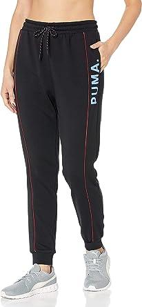 PUMA Womens Chase Pant Sweatpants - Black
