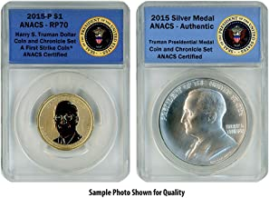 2015 P Harry S. Truman Two Coin Set RP70