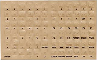 Braille Overlays for Computer Keyboards