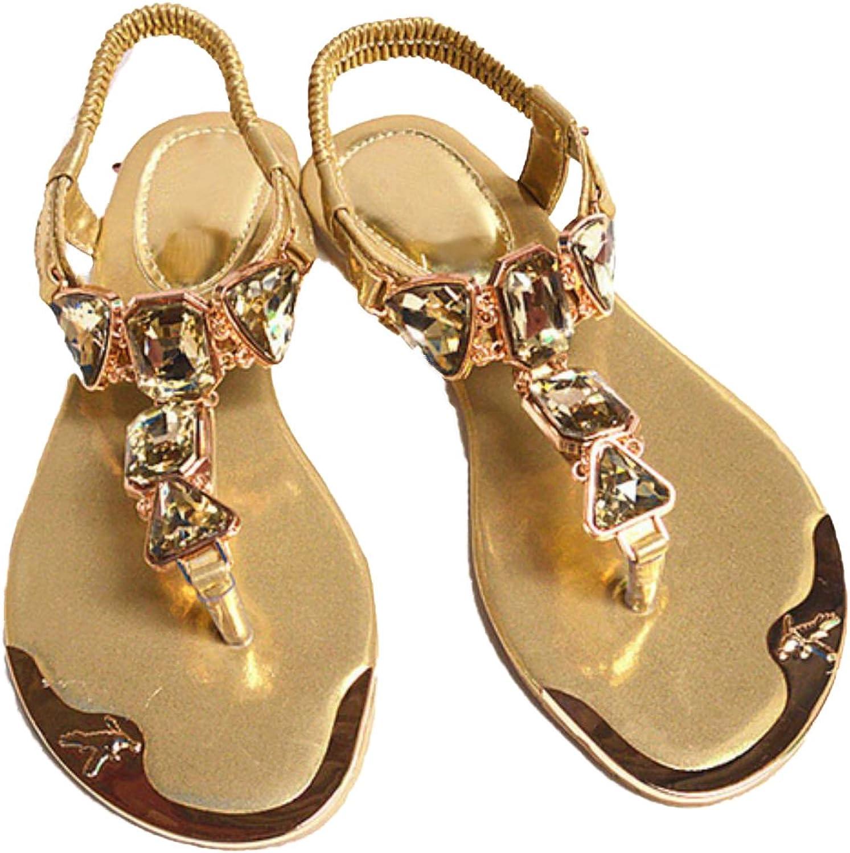 Women Hot Fashion Rhinestone Summer Sandals