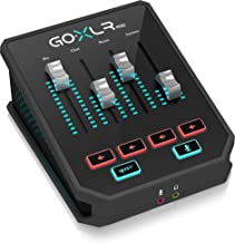 GoXLR Mini - Mixer & USB Audio Interface for Streamers, Gamers & Podcasters