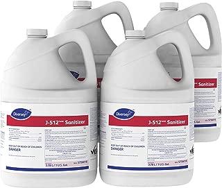 Diversey J-512 TM/MC Sanitizer (1-Gallon, Case of 4)