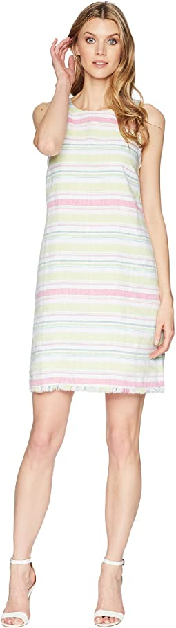 Tulum Stripe Shift Dress
