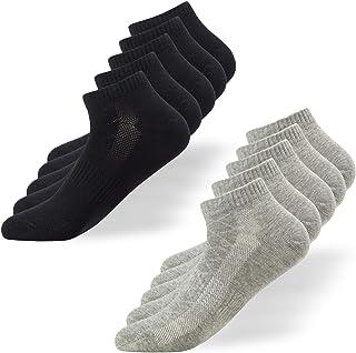 Calcetines Tobilleros Hombre Mujer 10 Pares Deportivos Cortos Algodon