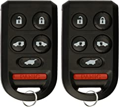 KeylessOption Keyless Entry Remote Control Car Key Fob for OUCG8D-399H-A (Pack of 2)