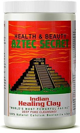 Aztec Secret - Indian Healing Clay - 2 lb. | Deep Pore Cleansing Facial & Body Mask | The Original 100% Natural Calcium Bentonite Clay – New! Version 2