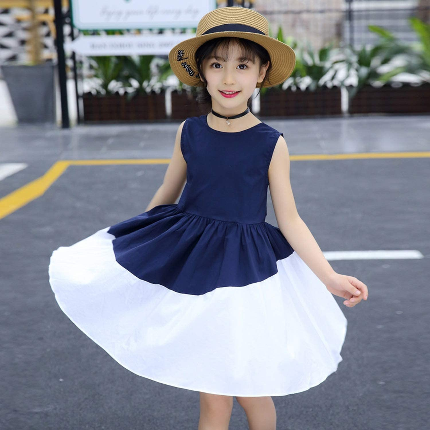 Amazon.com: Summer Kids Dresses for Girls 5 5 5 5 Years Casual