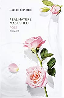 Nature Republic Real Nature Mask Sheet ROSE 10pc SET Daily Mask Korea