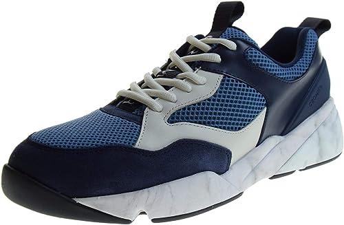 CROMIER Schuhe Männer Turnschuhe Turnschuhe Turnschuhe 2C02 Blau  Ladenverkauf Outlet