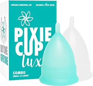 Number 1 for Most Active Period Cup - Every Menstrual Cup Purchased One is Given to a Woman in Need! (Combo Pack)