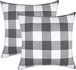 Best grey and white pillow covers Reviews