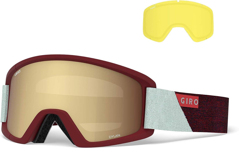 Giro Blok - Gafas de nieve para adultos con lentes vívidas