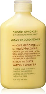 Mixed Chicks Curl Defining & Frizz Eliminating Leave-In Conditioner, 10 fl.oz