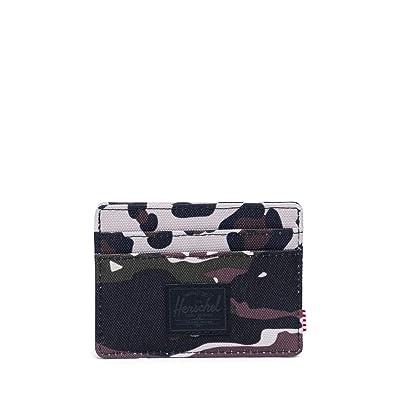 Herschel Supply Co. Charlie RFID (Tiger Camo/Leopard) Wallet Handbags