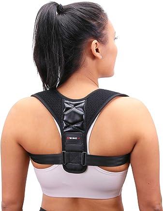 Comfort Posture Corrector for Women & Men - Medium - Back Straightener Posture Corrector Slouch Corrector Clavicle Shoulder Support Back Brace Posture Body Wellness Neck Back Pain Relief FDA Approved