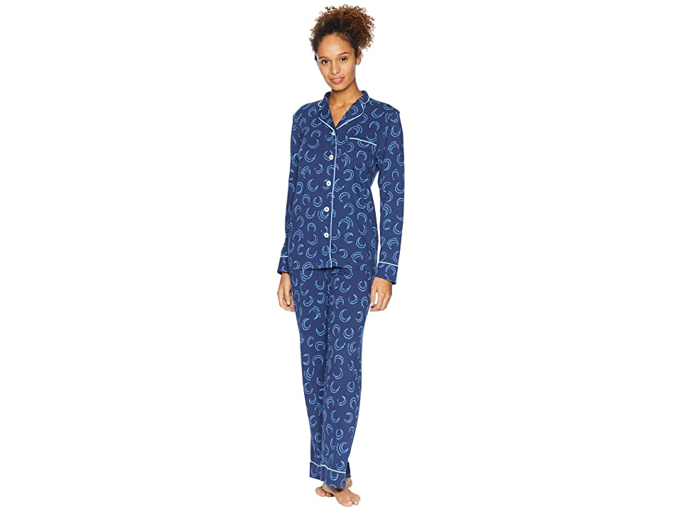 Life is Good Sleep Set (Darkest Blue) Women