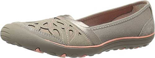 Skechers Wohommes Earth Fest-Repurpose Flat, Taupe, 5.5 M US
