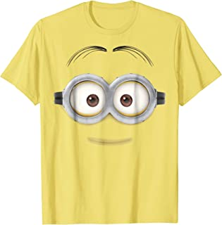Minions Dave Big Face Graphic T-Shirt