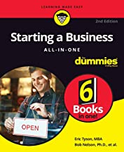 Starting a Business All-in-One For Dummies (For Dummies (Business & Personal Finance)) Book PDF