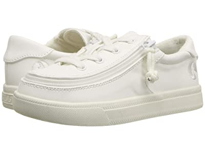 BILLY Footwear Kids Classic Lace Low PU (Toddler) (White PU) Kid