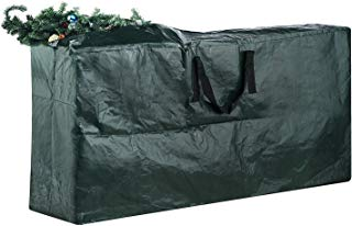 AOTUNO Premium Green Christmas Tree Bag Holiday Extra Large for up to 9' Tree Storage