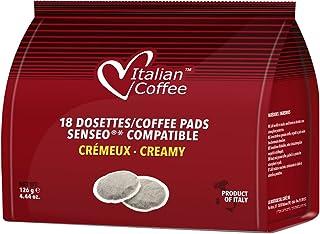 Senseo compatible pods Italian Coffee (Creamy, 180 Pads)
