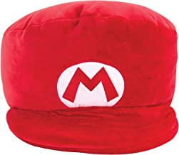 Club Mocchi Mocchi Mario Kart Mario Hat Plush Stuffed Toy | Super Soft | Great for Kids & Collectors