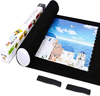 LAVIEVERT Jigsaw Puzzle Roll Mat Felt Mat for Puzzle Storage Puzzle Saver Up to 1500..