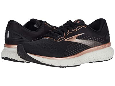 Brooks Glycerin 18 (Black/Rose Gold/Grey) Women