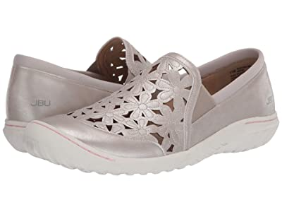 JBU Wildflower Moc (Cream Shimmer) Women