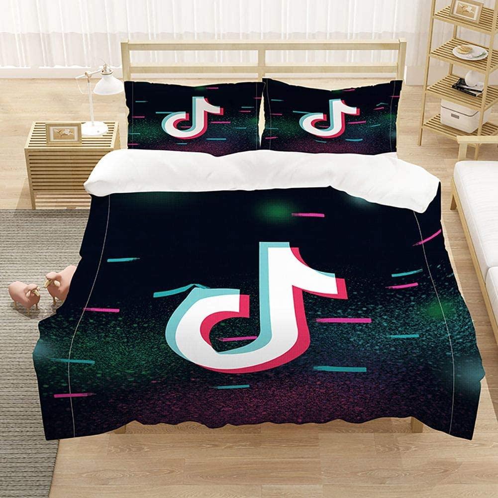 3D Printed 激安 激安特価 送料無料 Bedding Set Kids Boys セール Quee Black Sets Bed Duvet Cover