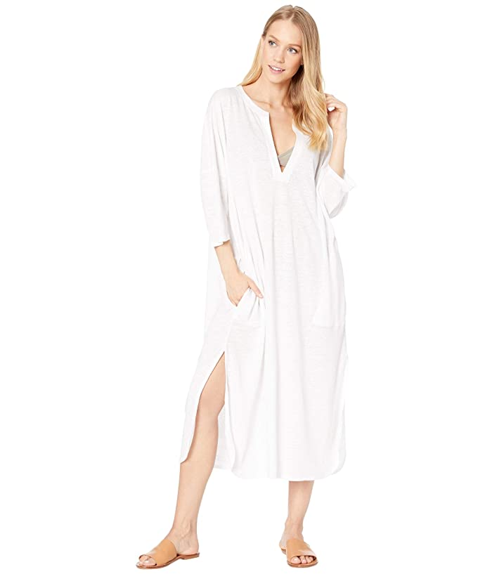Vilebrequin Farlini Linen Jersey Cover-Up Dress (White) Women