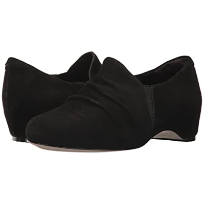 Walking Cradles Keiko (Black Suede) Women