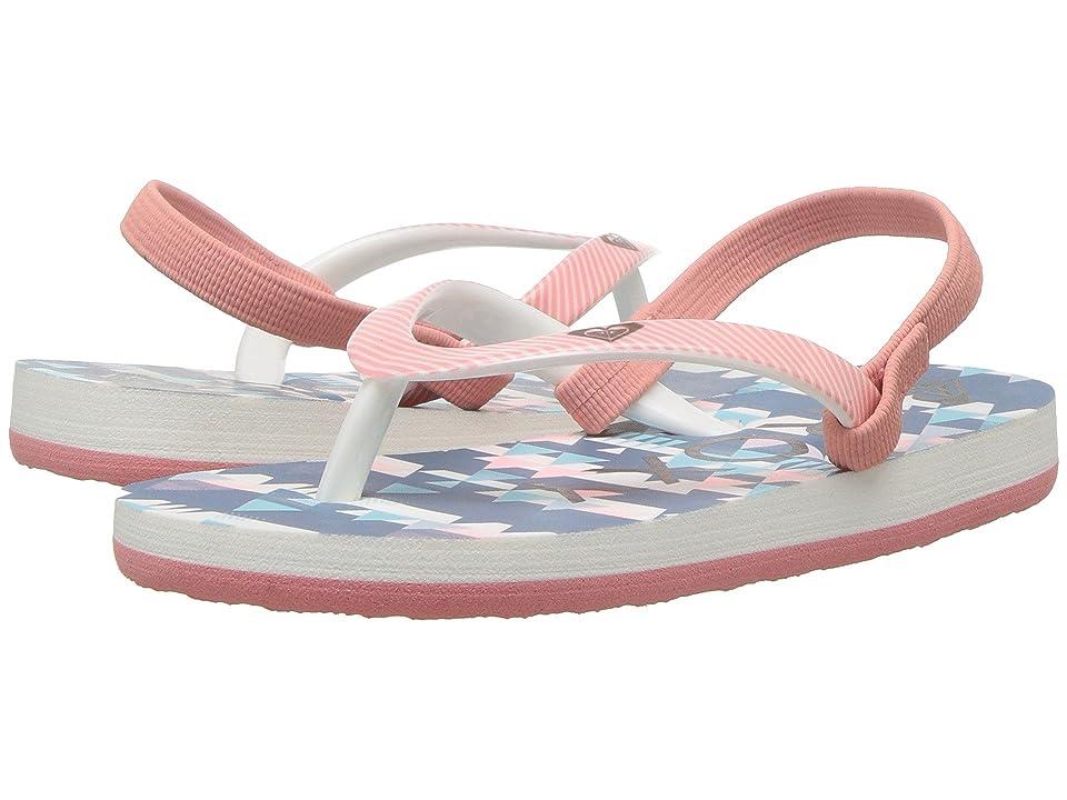 Roxy Kids Pebbles VI (Toddler) (Peach Parfait/Sea) Girls Shoes