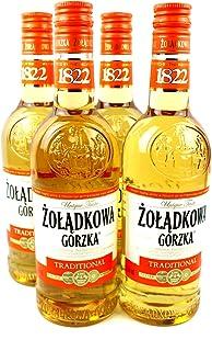 Zoladkowa Gorzka Traditional Wodka 4 x 0.5 l