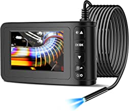 Industrial Endoscope with 4.3 inch LCD Color Screen 2MP Snake Camera 8mm Borescope Camera..