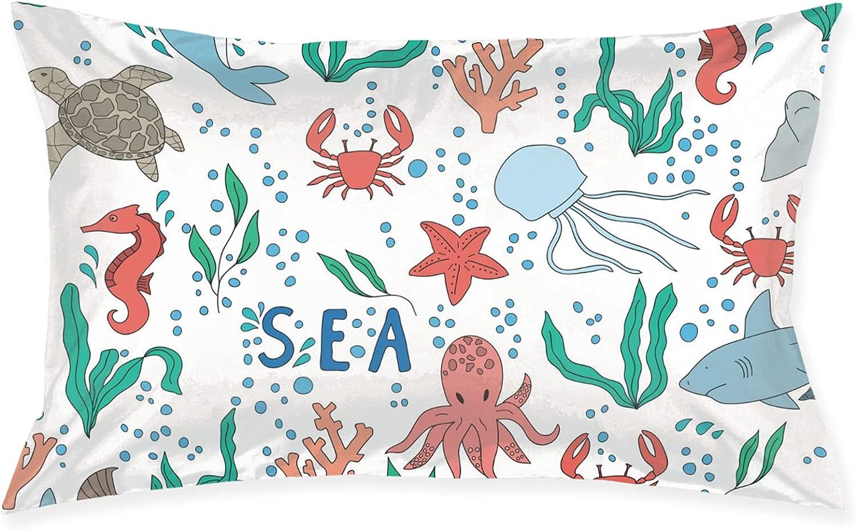 Beautiful Underwater World Pillows Regular discount Pillowcase Bed SALENEW very popular! Sleepi