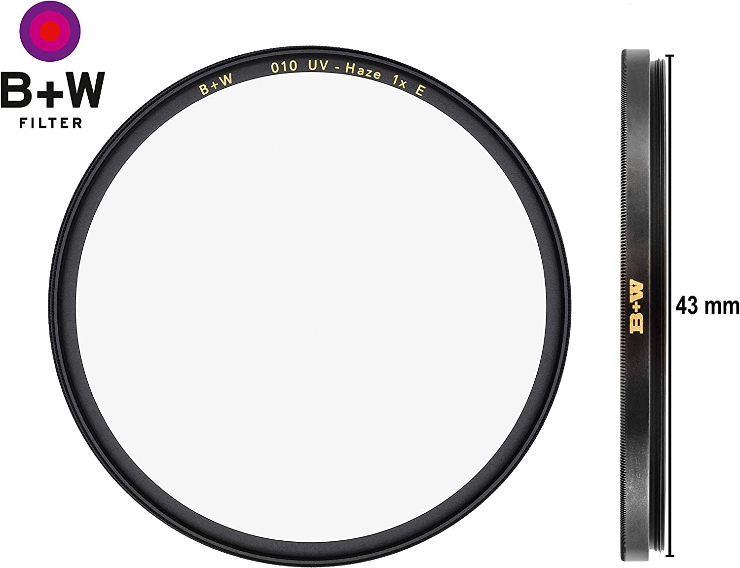 2 Layers Resistant Coating 39 mm Standard Mount for Camera Lens F-PRO Clear Protector E Coating Photography Filter B W 39mm UV Protection Filter 010