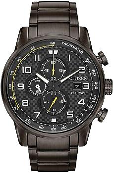 Citizen Primo Chronograph Grey Dial Men's Watch