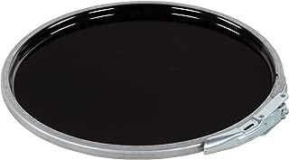 Vestil LID-STL-LL Steel Lever Lock Pail Lid, for 5 gallon, Black