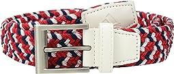 Braided Weave Stretch USA Belt