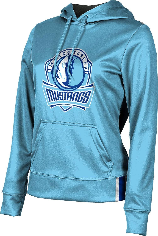 ProSphere Meadowcreek High School Girls' Pullover Hoodie, School Spirit Sweatshirt (Solid)