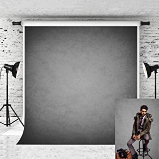 Kate 5x7ft Grey Photography Backdrop Old Master Portrait Background Collapsible Fabric