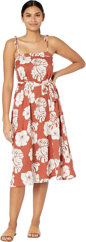 Roxy Women's Nowhere to Hide Strappy Midi Dress