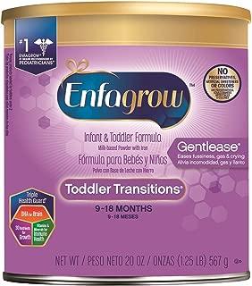 美赞臣Enfagrow幼儿过度温和2段奶粉 20盎司