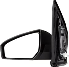 SCITOO Side View Mirror Driver Side Mirror Fit Compatible with 2007 2008 2009 2010 2011 2012 Nissan Sentra NI1320167 Power Adjustment Non-Folding Non-Heated