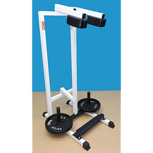 TDS 1000 rated Standing Calf Unit with Non Slippery Foot Plate & Extra Heavy Shoulder Padding