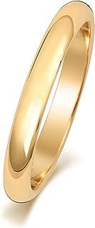 Anello Fede Nuziale Uomo/Donna 3mm in Oro giallo 9k (375) WJS150499KY