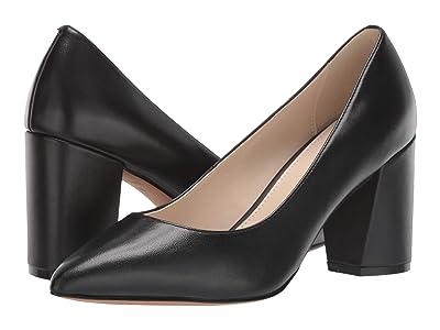Cole Haan Karena Pump 75 mm (Black Leather) Women