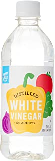 Amazon Brand - Happy Belly White Distilled Vinegar, Kosher, 16 Fluid Ounces